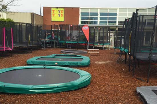 Thys Toys BERG trampolines