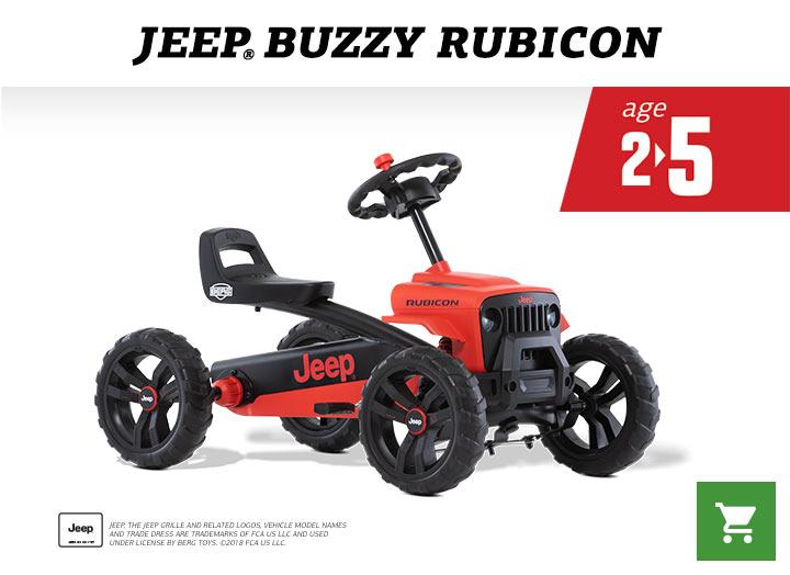 BERG Jeep Buzzy Rubicon