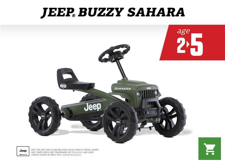 BERG Jeep Buzzy Sahara