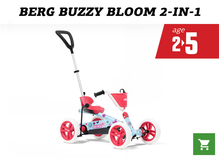 BERG Buzzy 2in1 Bloom