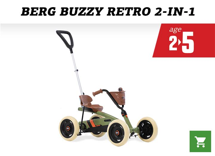 BERG Buzzy 2in1 Retro