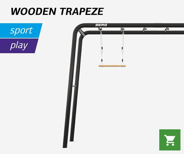 BERG Wooden trapeze
