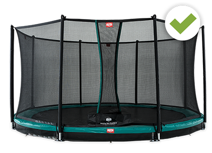 Champion trampoline Safety Net comfort