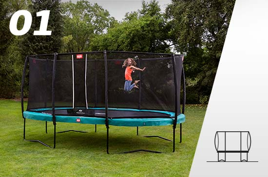regular trampoline