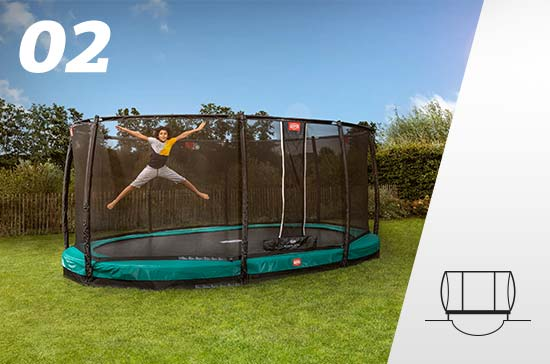 Image of Inground trampoline