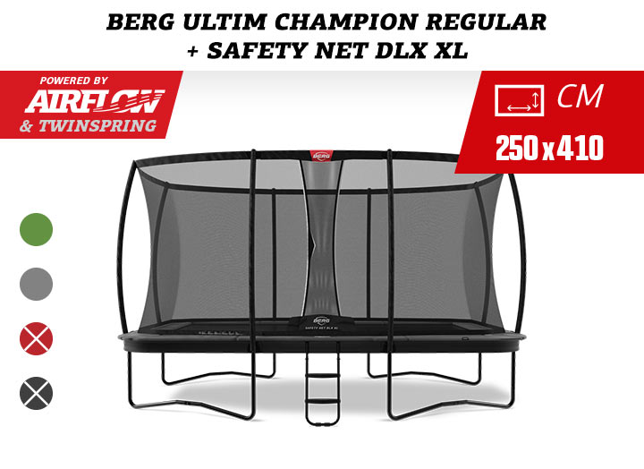 BERG Ultim Champion Regular + Safety Net Deluxe XL