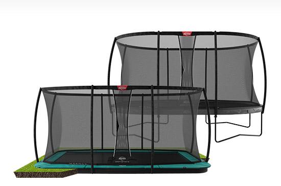 BERG Trampoline Vergelijker
