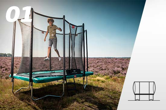 trampoline régulier