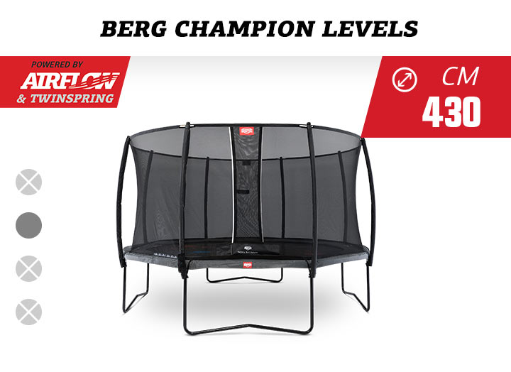 BERG Champion Levels