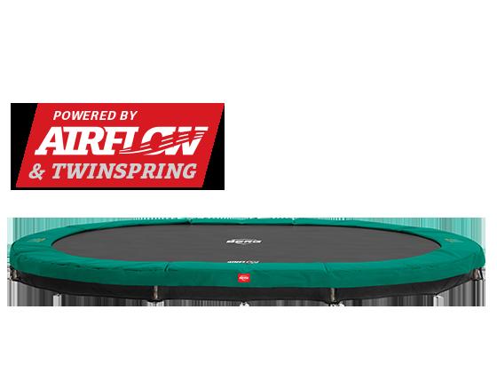 BERG Champion oval trampoline