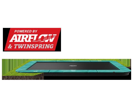BERG Champion rectangular trampoline