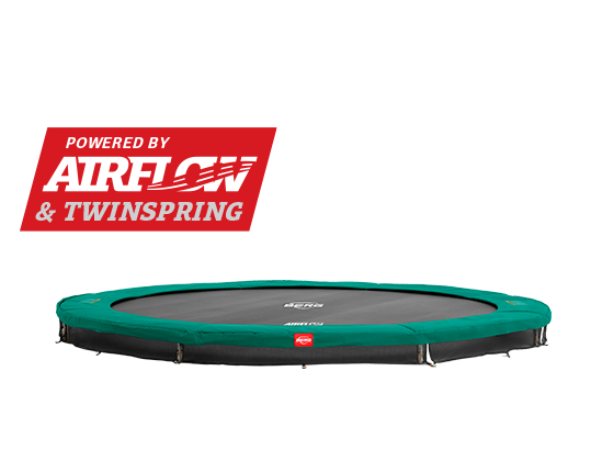 BERG Champion round trampoline