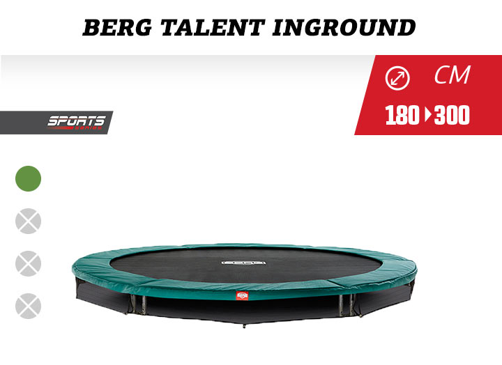 BERG InGround Sports Talent