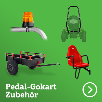 Pedal-Gokart-Zubehör